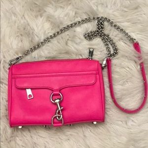 Hot pink crossbody